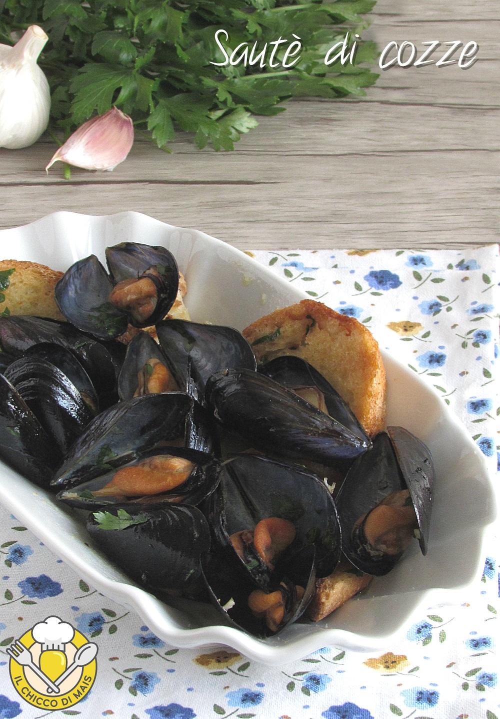 v_ sautè di cozze con crostini ricetta facile antipasto di pesce economico il chicco di mais
