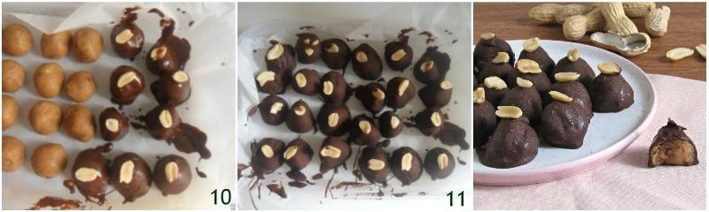 cioccolatini al burro di arachidi ricetta dolcetti facili e senza cottura il chicco di mais 4 coprire i cioccolatini