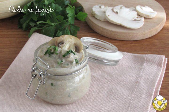 salsa ai funghi per carne pasta crostini con champignon e panna ricetta facile e veloce il chicco di mais