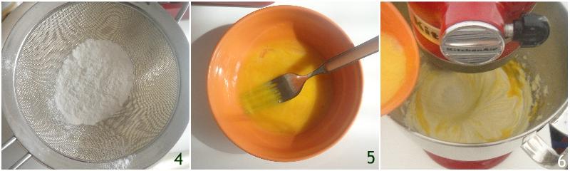torta paradiso ricetta originale con impasto soffice e che si scioglie in bocca il chicco di mais 2 unire i tuorli