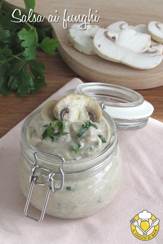 v_ salsa ai funghi per carne pasta crostini con champignon e panna ricetta facile e veloce il chicco di mais