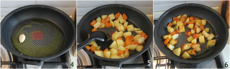 zucca e patate in padella ricetta con la zucca facile contorno veloce e appetitoso il chicco di mais 2 saltare zucca e patate in padella