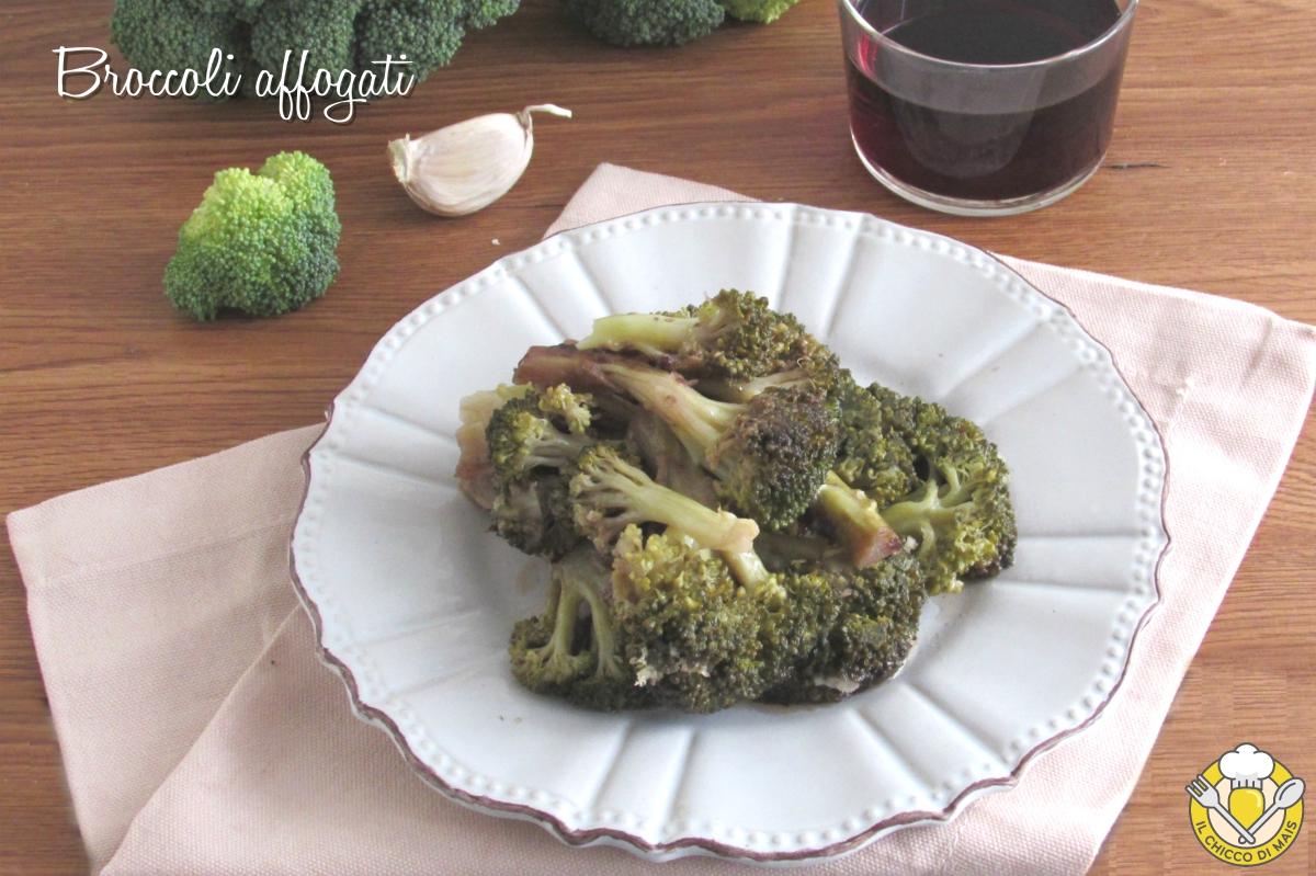 Broccoli Affogati al Vino Rosso