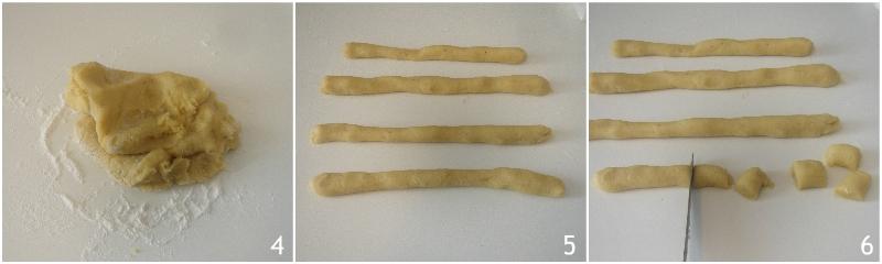 Fave dei morti ricetta romana laziale biscotti alle mandrle del 2 novembre il chicco di mais 2 fare i rotolini
