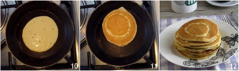 Pancakes alla ricotta con salsa al cioccolato ricetta pancakes alti e soffici il chicco di mais cuocere le friittelle