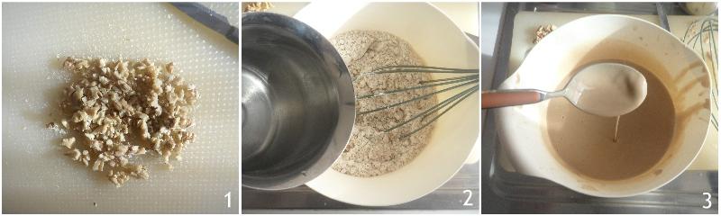 castagnaccio toscano morbido senza uvetta ricetta originale il chicco di mais 1 mescolare acqua e farina di castagne