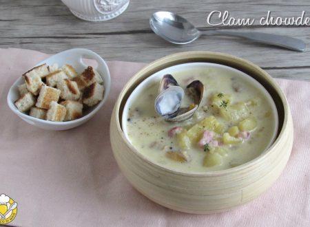 Clam chowder, la zuppa di vongole americana