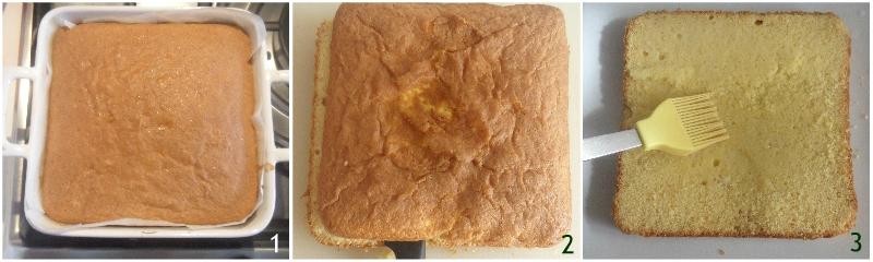 torta numero 1 torta primo compleanno bambina a strati bianca e rosa il chicco di mais 1 bagnare la base