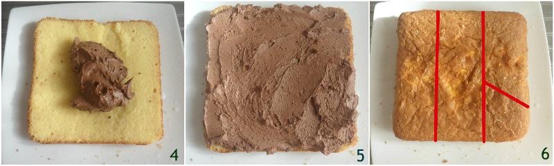 torta numero 1 torta primo compleanno bambina a strati bianca e rosa il chicco di mais 2 farcire con ganache al cioccolato