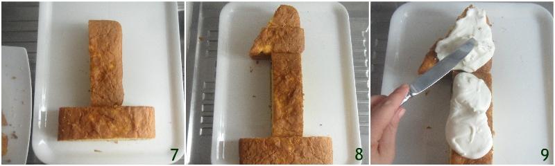 torta numero 1 torta primo compleanno bambina a strati bianca e rosa il chicco di mais 3 tagliare a la torta a forma di numero uno