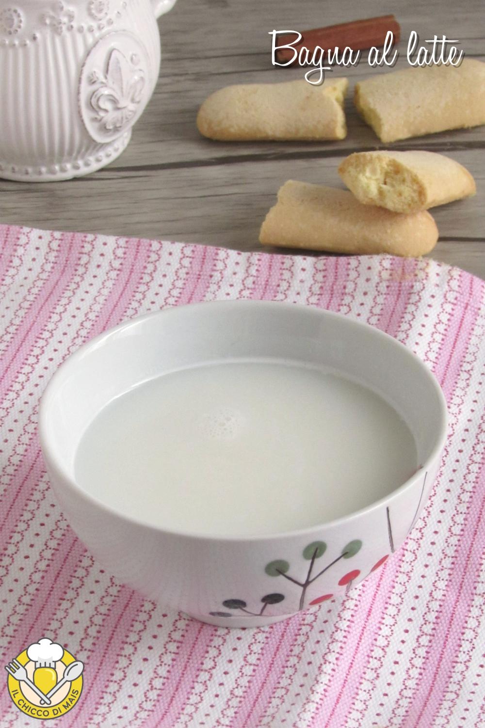 v_ bagna al latte per torte e tiramisù ricetta facile bagna analcolica alla vaniglia cioccolato cannella limone arancioa o altro il chicco di mais