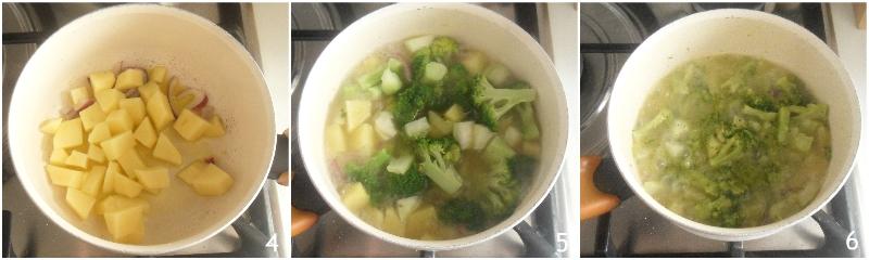 vellutata di broccoli e patate ricetta facile cremosissima senza panna il chicco di mais 2 cuocere broccoli e patate