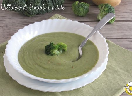 Vellutata di broccoli e patate