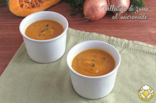 ricette con la zucca vellutata di zucca al microonde ricetta veloce in 10 minuti senza patate il chicco di mais