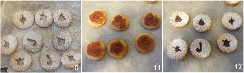 biscotti linzer ricetta originale austriaca biscotti di natale farciti con marmellata il chicco di mais 4 farcire i biscotti