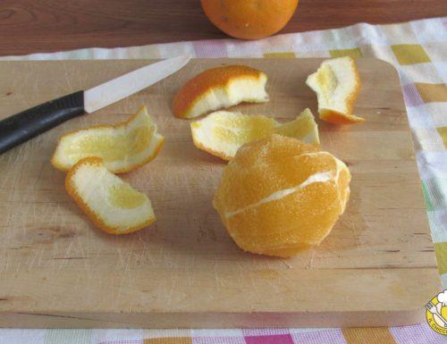Come pelare a vivo le arance