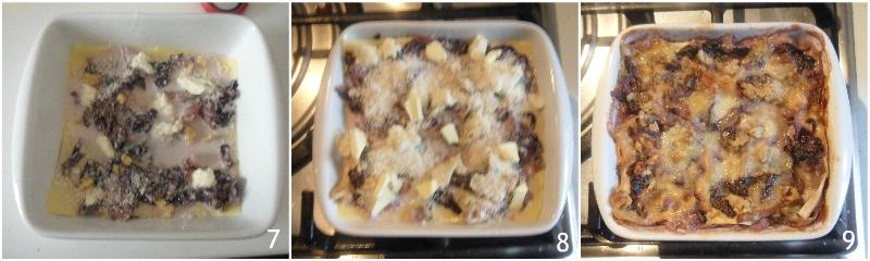 lasagne radicchio gorgonzola e noci ricetta lasagna cremosa vegetariana il chicco di mais 3 comporre le lasagne
