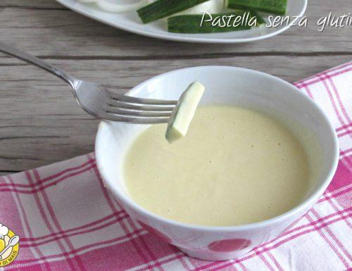 Pastella senza glutine con farina di riso