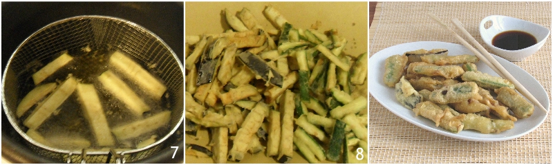 tempura di verdure con farina di riso ricetta verdure in pastella giapponese croccanti asciutte il chicco di mais 3 friggere le verdure in tempura