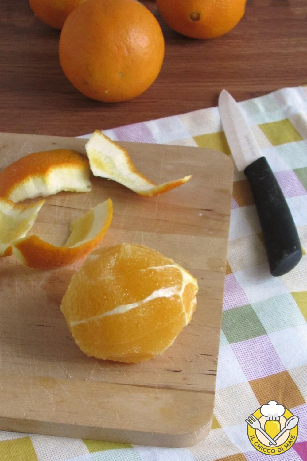 v_ come pelare a vivo le arance tutorial con video e foto passo passo il chicco di mais