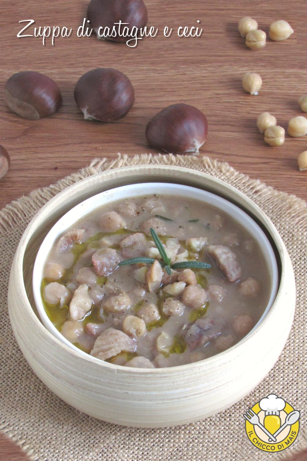 v_ zuppa di castagne e ceci cremosa ricetta vegetariana vegana il chicco di mais