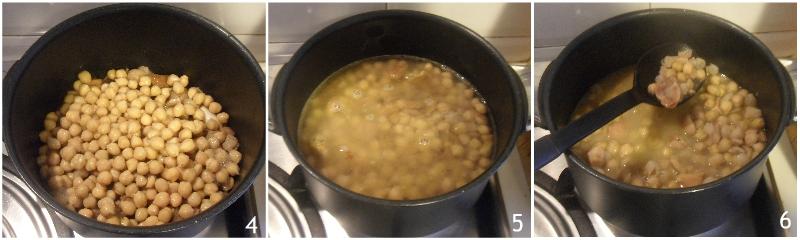 zuppa di castagne e ceci cremosa ricetta vegetariana vegana il chicco di mais 2 unire i ceci