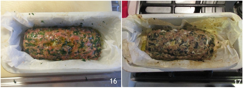 Polpettone agli spinaci ripieno di formaggio filante ricetta facile gustosa il chicco di mais 6 cuocere il polpettone in forno