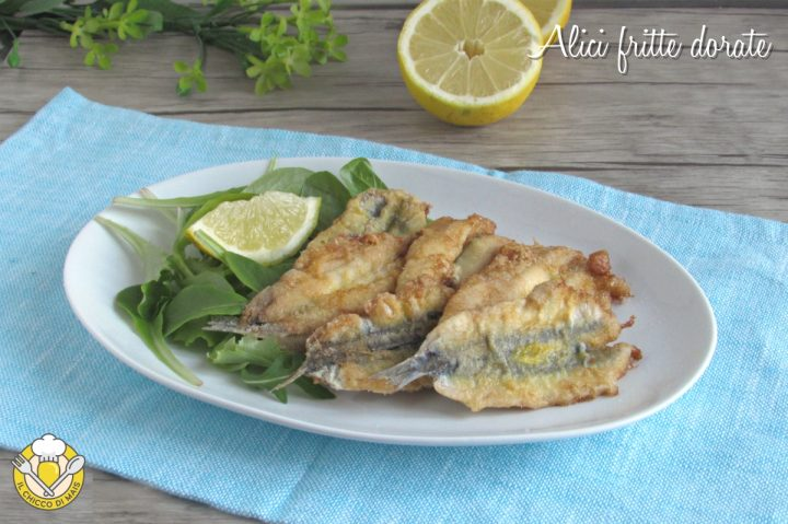alici fritte dorate uova e farina senza pastella ricetta facile economica il chicco di mais