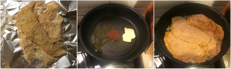 chicken parmesan pollo alla parmigiana impanato con pomodoro e mozzarella ricetta golosa il chicco di mais 3 cuocere il pollo