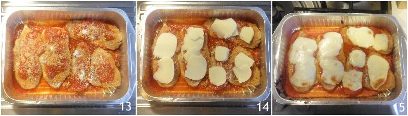 chicken parmesan pollo alla parmigiana impanato con pomodoro e mozzarella ricetta golosa il chicco di mais 5 fondere il formaggio