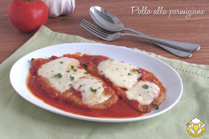 chicken parmesan pollo alla parmigiana impanato con pomodoro e mozzarella ricetta golosa il chicco di mais