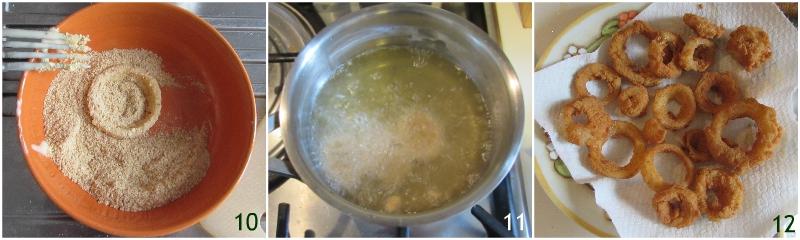onion rings anelli di cipolla fritti croccanti ricetta americana il chicco di mais 3 friggere gli anelli di cipolla