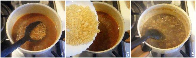 pasta e lenticchie cremosa risottata ricetta facile vegetariana vegana il chicco di mais 2 cuocere le lenticchie