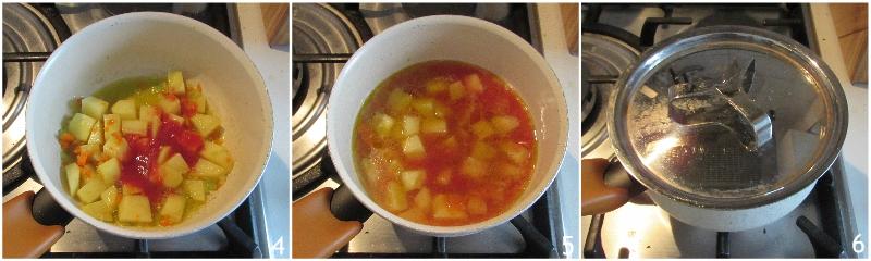 pasta e patate al forno ricetta tradizionale napoletana il chicco di mais 2 unire le patate