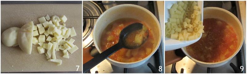 pasta e patate al forno ricetta tradizionale napoletana il chicco di mais 3 unire la pasta