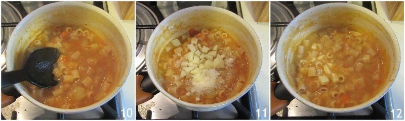 pasta e patate al forno ricetta tradizionale napoletana il chicco di mais 4 unire la provola