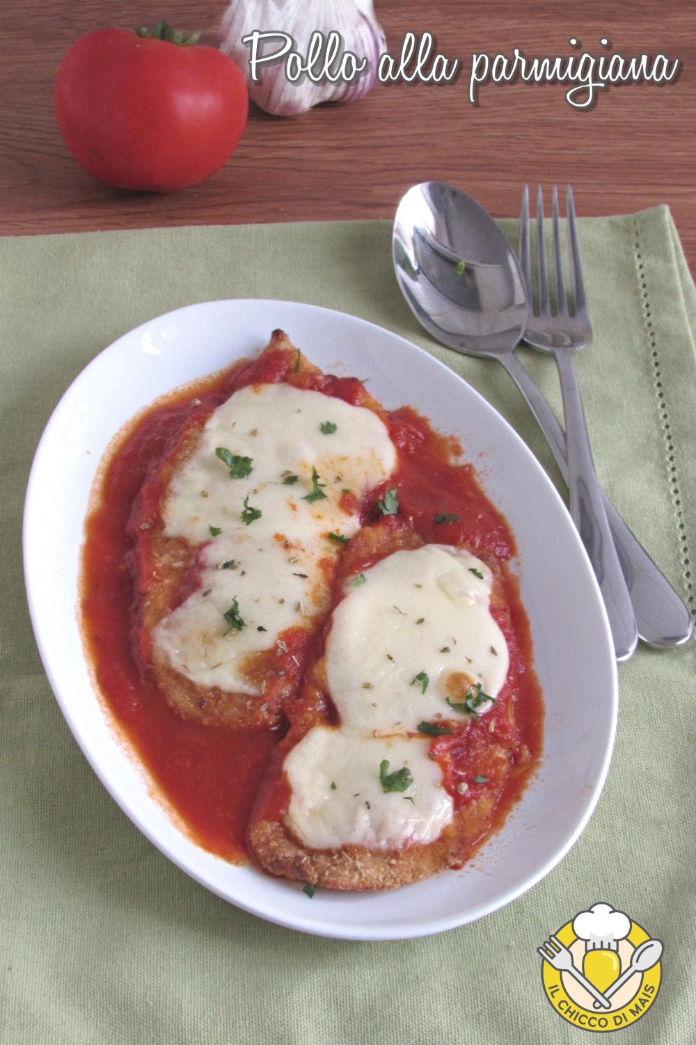 v_ chicken parmesan pollo alla parmigiana impanato con pomodoro e mozzarella ricetta golosa il chicco di mais