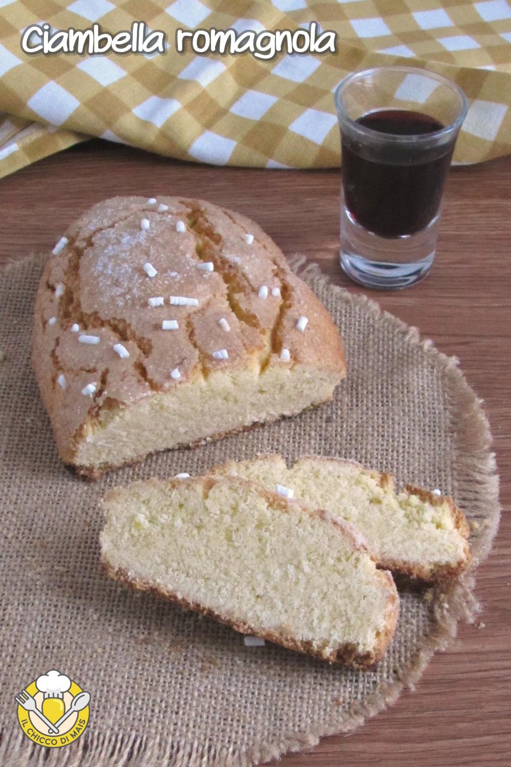 v_ ciambella romagnola brazadela ricetta tradizionale e senza glutine il chicco di mais