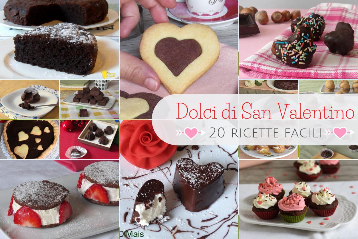 Dolci di san valentino 20 ricette facili di torte for Dolci ricette facili