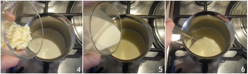 cioccolata calda bianca densa e cremosa ricetta facile con foto passo passo il chicco di mais 2 unire il cioccolato a pezzetti