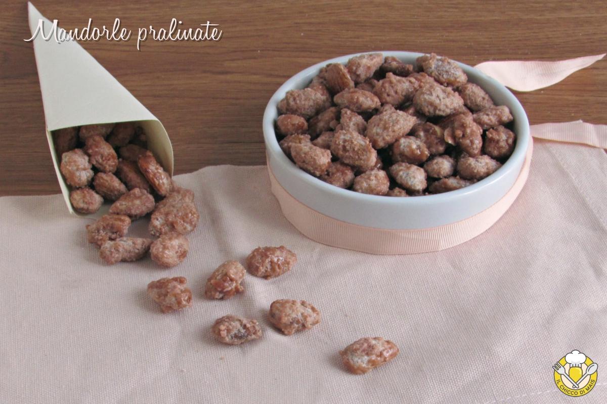 mandorle pralinate addormentasuocere ricetta con video mandorle allo zucchero frutta secca caramellata il chicco di mais