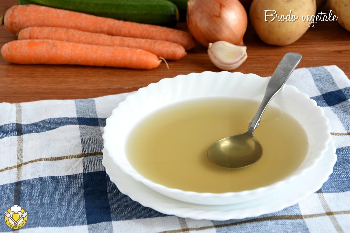 o_ brodo vegetale ricetta base tradizionale e in pentola a pressione consigli svezzamento il chicco di mais