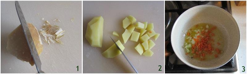 pasta e patate alla napoletana con provola ricetta originale senza pomodoro il chicco di mais 1 pulire la crosta di parmigiano