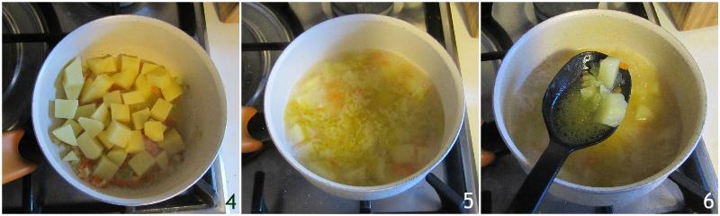 pasta e patate alla napoletana con provola ricetta originale senza pomodoro il chicco di mais 2 cuocere le patate