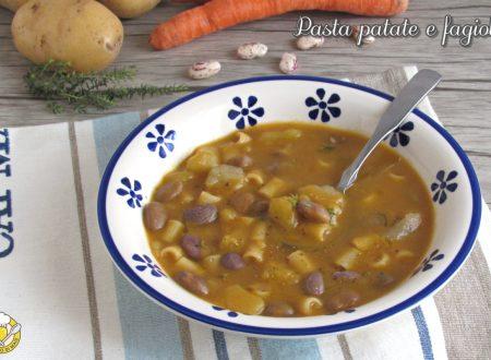 Pasta patate e fagioli