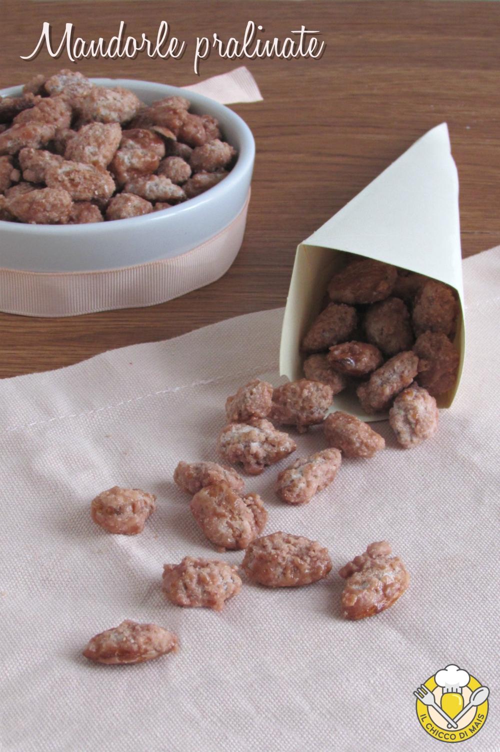 v_ mandorle pralinate addormentasuocere ricetta con video mandorle allo zucchero frutta secca caramellata il chicco di mais