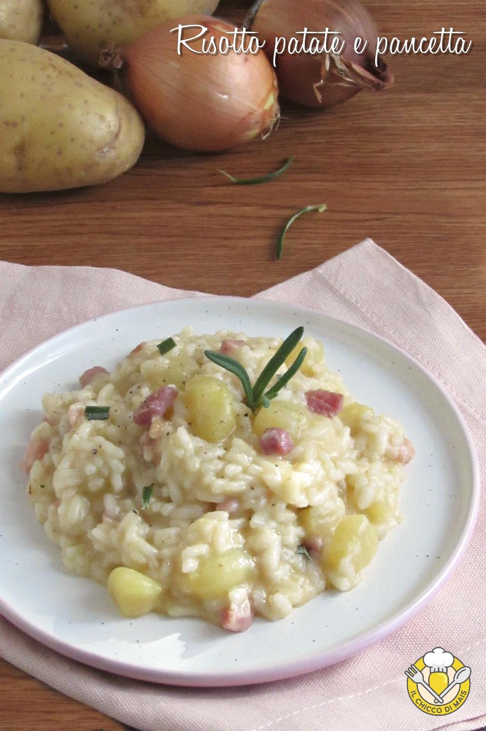 v_ risotto patate e pancetta ricetta facile e gustosa senza burro il chicco di mais