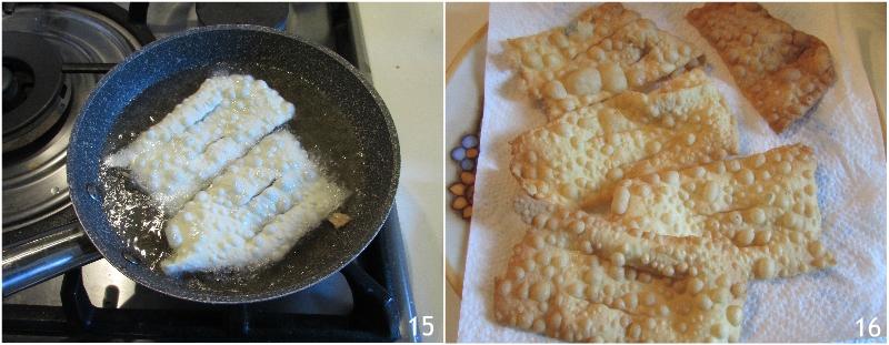 chiacchiere senza glutine fritte o al forno con farina nutrifree ricetta crostoli cenci frappe di carnevale glutenfree senza lievito il chicco di mais 7 friggere
