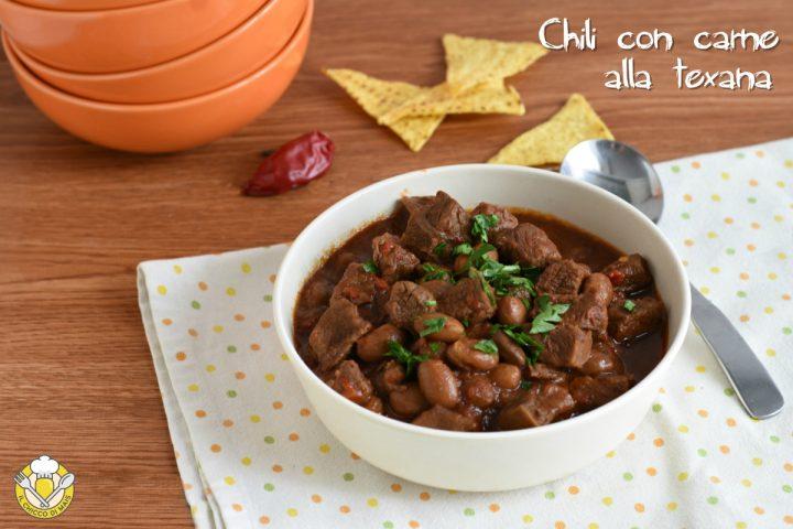 chili con carne alla texana con carne a pezzi ricetta originale americana il chicco di mais