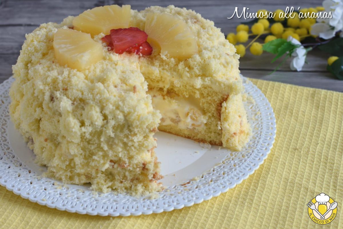or_ torta mimosa all'ananas ricetta facile con foto passo passo torta di compleanno il chicco di mais